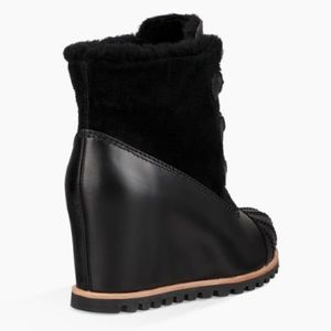 d1b67d0bfd9 UGG ALASDAIR Waterproof Wedge Bootie NWT